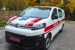 Уманську центральну міську лікарню забезпечено новим, сучасним автомобілем CITROEN JUMPY